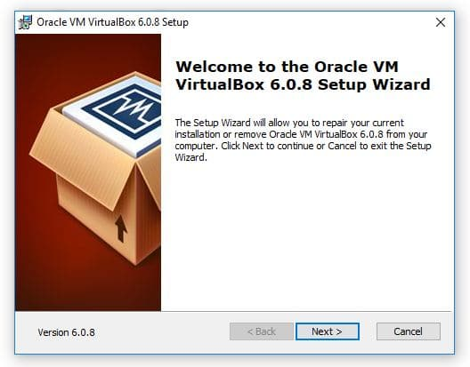 VirtualBox Install