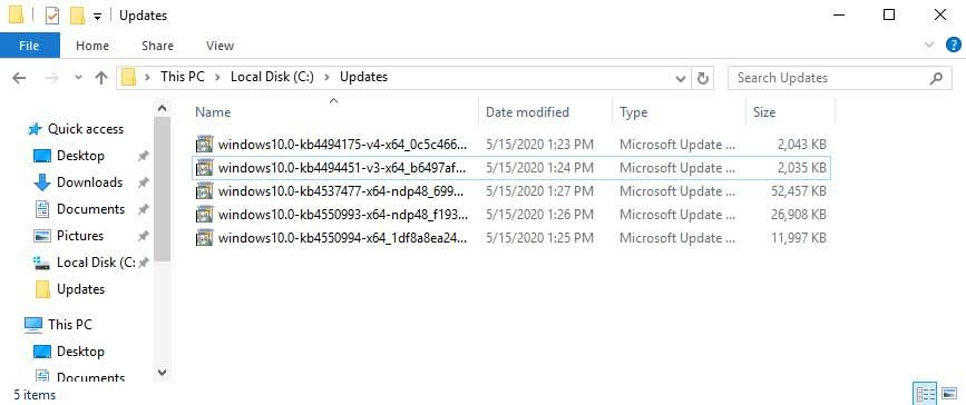 Windowsupdates