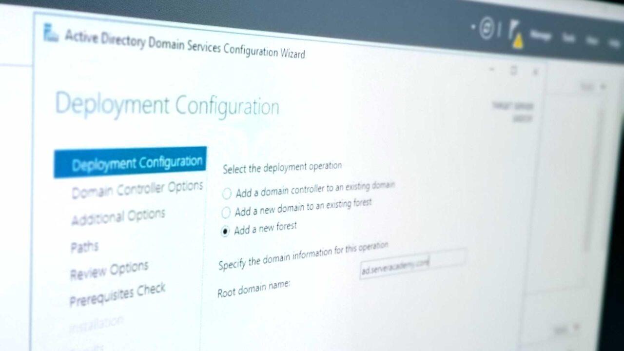 Promote A Server To A Domain Controller